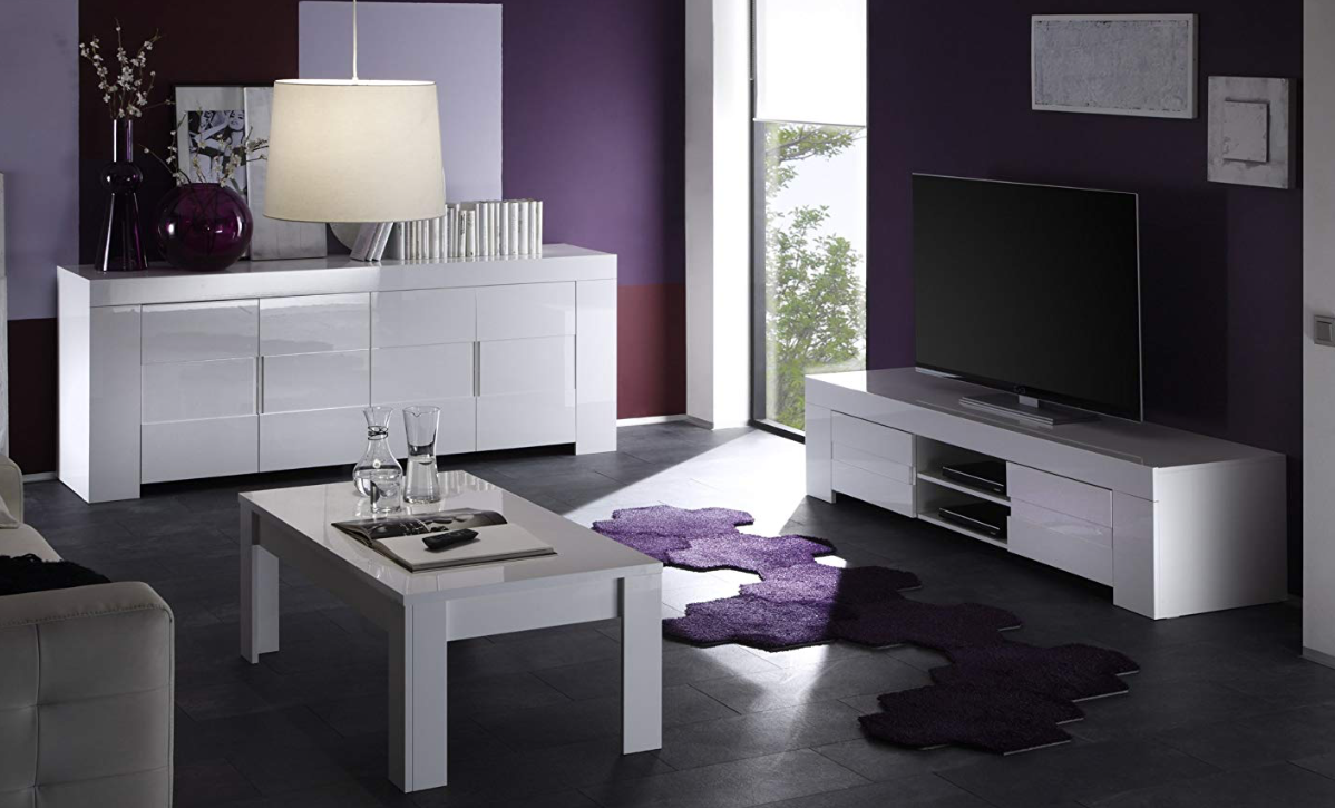 muebles auxiliares television leroy merlin