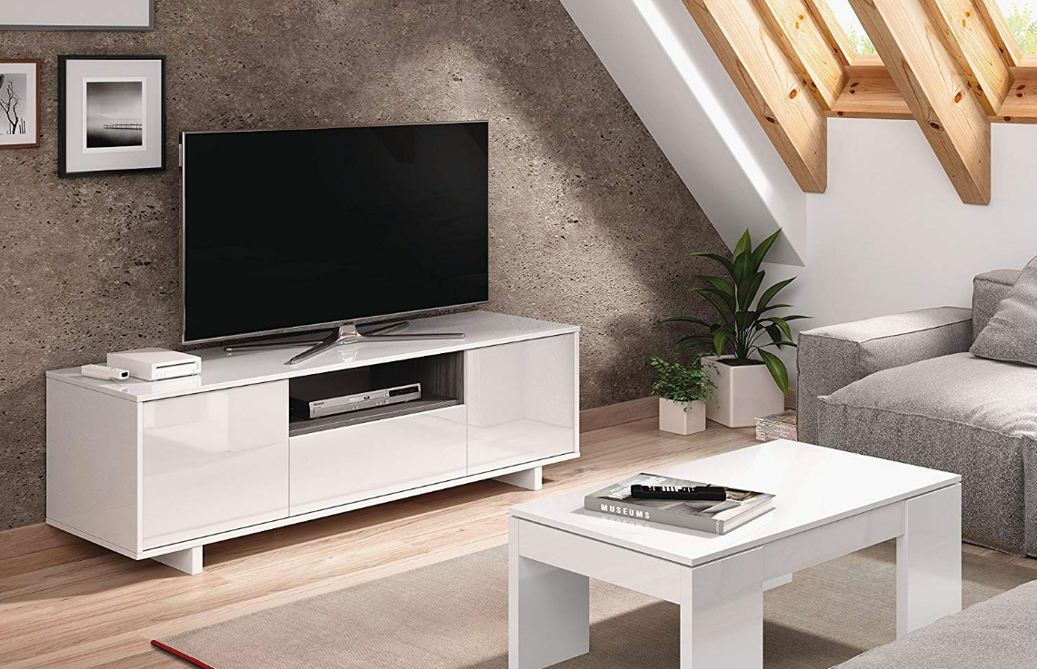muebles tv blanco